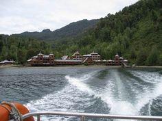 Thermal water at Puyuguapi Chile
