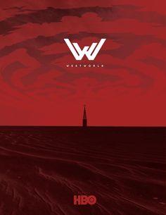 "#WestWorld Season 1 concept #poster and ""alternate timeline"" #logo"