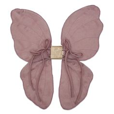 Hand Crafted wired fairy wings in Dusty Rose Pink with Gold Glitter Papillon Rose, Dress Up Boxes, Fairy Princesses, Fairy Wings, Handmade Dresses, Butterfly Wings, Beautiful Butterflies, Kids Playing, Little Ones