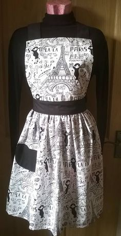 Ooh la la Paris apron