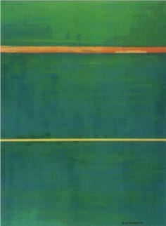 ESPRESSIONISMO ASTRATTO AMERICANO - COLOR FIELD Dionysius - Barnett Newman