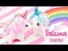 (4) bff unicorn diy charms - YouTube
