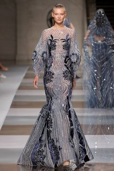 Ziad Nakad Couture Fall/Winter - All About Style Couture, Haute Couture Fashion, Couture Dresses, Fashion Dresses, Runway Fashion, Fashion Show, Live Fashion, Latest Fashion, Collection Couture