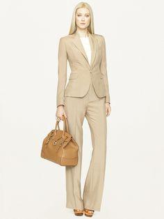 Silk Dabney Jacket - Jackets  Women - RalphLauren.com