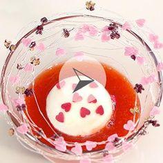 île d'amour ? Juste flottante et aux fraises ! imaginée pour #cookin