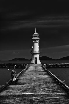 The Lighthouse by Joseph Parker, via 500px - Koh Chang, Thailand