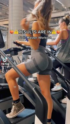 Stairmaster Workout, Buttocks Workout, Leg And Glute Workout, Gym Workout Videos, Gym Workout For Beginners, Fitness Workout For Women, Fitness Goals, Gym Workouts, Body Fitness