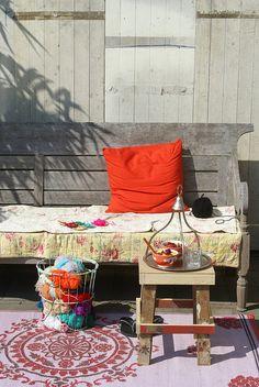 summer mood garden by wood & wool stool, via Flickr