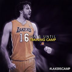 16 days until #lakers training camp
