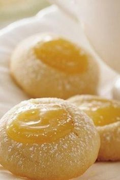 """Even lemon doubters will be addicted to these adorable homemade lemon cookies. The tangy filling is oh-so-yummy, and it pairs perfectly with the easy vanilla cookies. One of our most popular lemon recipes! """"Anyone who loves lemon will love the tangy center,"""" says Betty member MaryBBell. """"I topped them off with a few strands of coconut and they were just yummy! Working making a family tradition!"""""""