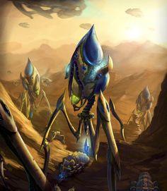 StarCraft Protoss Colossus