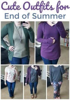 Cute End of Summer Outfits