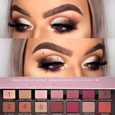 Explore these shockingly stunning all make-up ideas that look at the most. Explore these shockingly stunning all make-up ideas that look at the most. – Das schönste Make-up Make Up Palette, Makeup Eye Looks, Eye Makeup Steps, Blue Makeup, Eyebrow Makeup, Makeup Goals, Makeup Inspo, Makeup Ideas, Easy Makeup