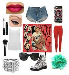 """""""Untitled #193"""" by sparkle-4 on Polyvore featuring rag & bone, WearAll, M&Co, Dr. Martens, Chanel, Michael Kors, LORAC and Gucci"""