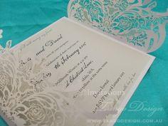 laser cut fifteen invitations by www.tangodesign.com.au #laser-cutinvitations #sweetsixteeninvitations #invitacionquince
