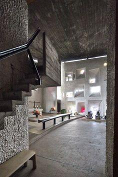 A&EB 08. Le Corbusier > Notre Dame du Haut, Ronchamp   HIC Arquitectura
