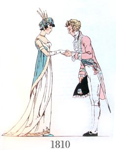 nisiedrawsstuff:  English Costume of the Nineteenth Century by John Laver and illustrated by Iris Brooke