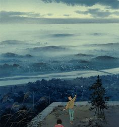 Whisper of the Heart. LOOK AT THIS. LOOK AT THIS ANIMATION. WHISPER OF THE HEART IS SO OVERLOOKED.