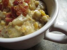 Slow Cooker Corn Chowder - I made this on 1/29/12. I doubled it in my 6 qt slow cooker. It was AWESOME.