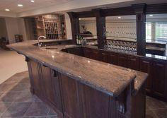 Basement Bars, Home Bars, Custom Homes, Kitchen Ideas, Kitchen