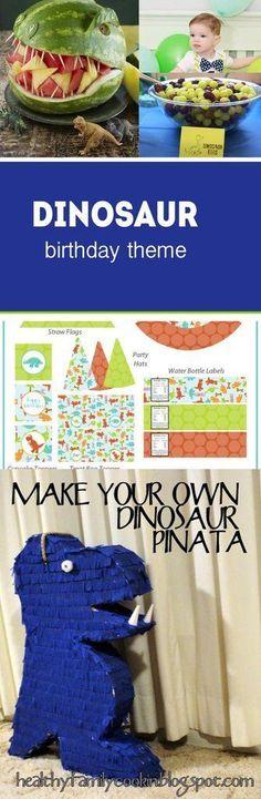 Boy Dinosaur 1st Birthday on a budget | Dinosaur birthday | Birthday party on a budget