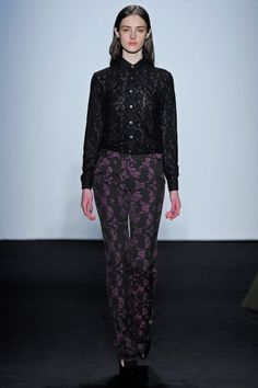 Timo Weiland | FW 2013 - 14 | NYC