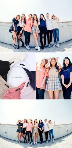 Chuu everyday tee   Korean Fashion #chuu