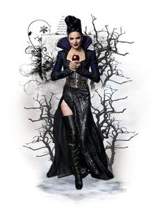 """""""The Evil Queen (Regina)"""" by msriahriah ❤ liked on Polyvore featuring art"""