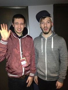 Twenty One Pilots Josh Dun and Tyler Joseph