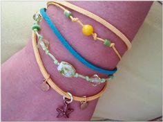 Summertimes handmade bracelet Χειροποιητο μπρασελε Summertimes