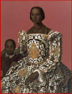 Woman with Child (Bronzino)(2008), Mary Waters