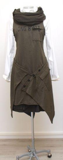 rundholz dip - Kleid mit Cacheur Sweater print filz - Winter 2015