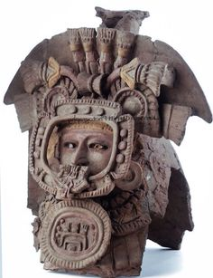 JOJO POST STAR GATES: THOUSANDS YEAR OLD ASTRONAUT?? WHAT OS THE MESSAGE THAT THEY LEFT HERE FOR THE FUTURE GENERATIONS ON PLANET EARTH?? Popol Vuh Museum; Guatemala City; Universidad Francisco Marroquin; Incensario; Guatemala; Mayan; Maya.