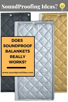 If you are planning to soundproof a door or wall using SoundProof Blanket then you concern about, is SoundProof Blanket really works and how exactly soundproof blanket works?Here we explained everything in detail. Sound Proofing Door, Sound Proof Curtains, Soundproofing Material, Moving Blankets, Blanket On Wall, Sound Absorbing, Dog Rooms, Diy Home Repair, Studio