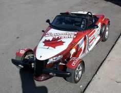 Ottawa Car Wrap - Plymouth Prowler