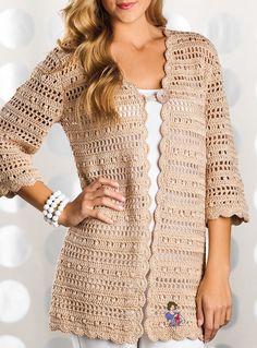 Crochet women jacket, crochet summer cardigan, handmade crochet jacket, crochet short jacket, crochet top, crochet lace top, FREE SHIPPING