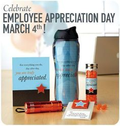 #EmployeeAppreciationDay is March 4th! Are you ready??
