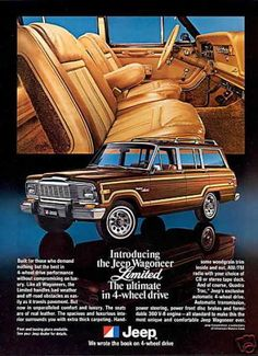 Jeep Wagoneer Limited Ultimate 4WD (1979)
