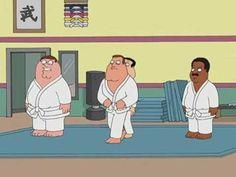 Family guy - dojo - YouTube Comedy Series, Dojo, Family Guy, Youtube, Fictional Characters, Fantasy Characters, Youtubers, Youtube Movies, Griffins