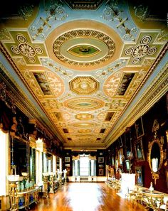 Harewood House  is a country house located in Harewood near Leeds, West Yorkshire, England. Designed by the architects John Carr and Robert Adam, it was built from 1759 to 1771 for wealthy trader Edwin Lascelles, 1st Baron Harewood. Still home to the Lascelles family, Harewood House is a member of Treasure Houses of England, a marketing consortium for ten of the foremost historic homes in England.Not royal but worth sharing! Amazing...