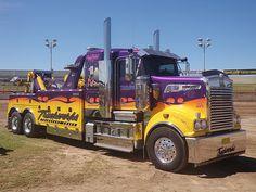 Show Trucks, Big Rig Trucks, Kenworth Trucks, Pickup Trucks, Country Trucks, Towing And Recovery, Custom Big Rigs, Trailer, Good Ole
