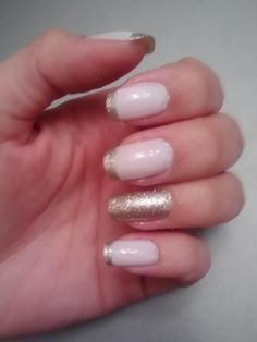 My Blingy French Manicure