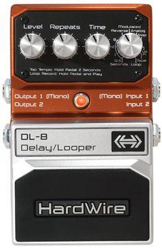 Digitech Hardwire DL-8 Delay/Looper Pedal