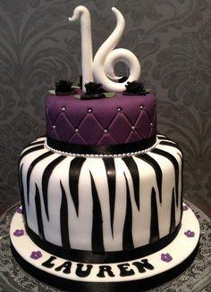 Glamourous 16th Birthday Cake!!!love it