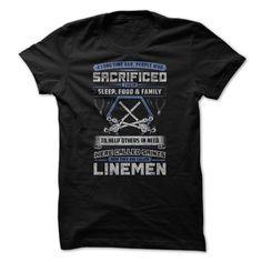 LINEMEN T-Shirts, Hoodies. ADD TO CART ==► https://www.sunfrog.com/Jobs/LINEMAN-89933479-Guys.html?id=41382