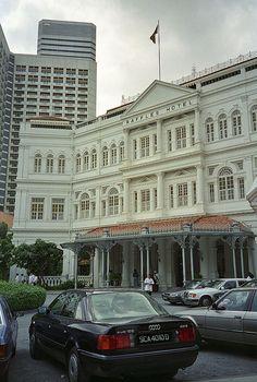 The famous Raffles Hotel - Singapore