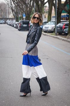 street fashion | The Bold And Colorful Of Milan Fashion Week Street Style So Far | Page ...