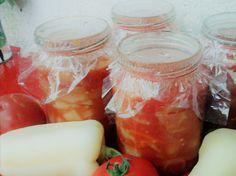 Fresh Rolls, Quinoa, Mason Jars, Ethnic Recipes, Food, Red Peppers, Essen, Mason Jar, Meals