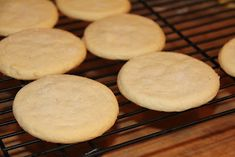 Deep South Dish: Old Fashioned Southern Tea Cakes (basic, old fashioned, butter sugar cookies)