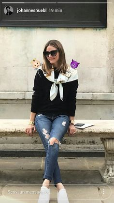 Olivia Palermo snapped casual on IG stories